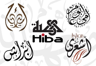 Arabic calligraphy names