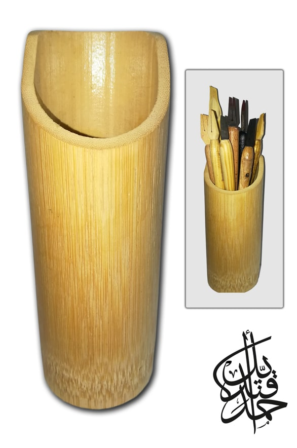 Store - Bamboo Pen Stand